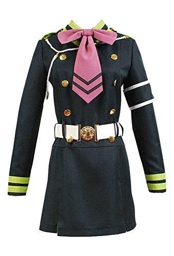 Seraph of the End Shinoa Hiragi Uniform Kleid -