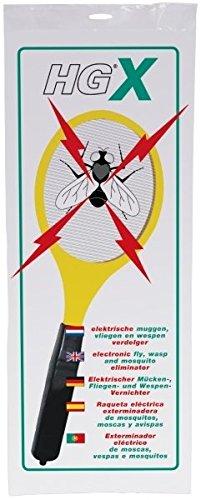 Raqueta eléctrica anti insectos - exterminadora de mosquitos, moscas y avispas - rápida y segura