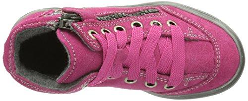 Richter Mädchen Halbschuhe, Stiefel fuchsia/silver, 470558-43 Rose - Pink (fuchsia/silver   3501)