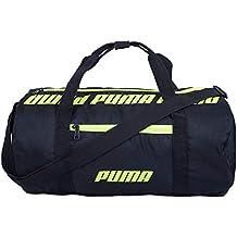 Puma 07616901 Black Core Barrel Bag S Sports Duffle Bag