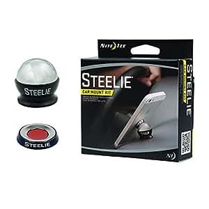 Nite Ize STCK-11-R8 Steelie Car Mount Kit for Cellphones - Retail Packaging