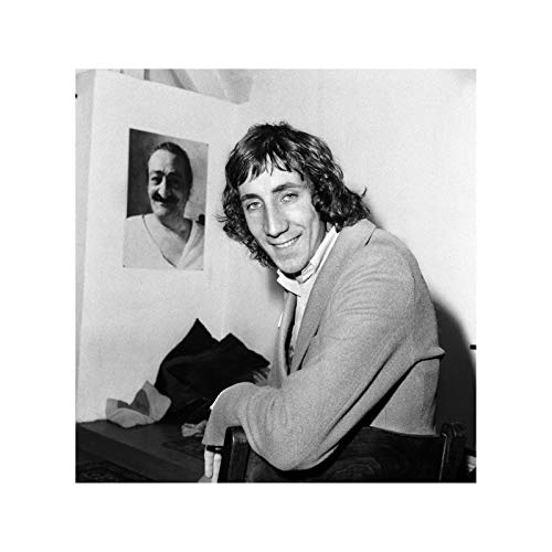 The Who - Pete Townshend gives a press conference about drugs 1969 Print 60x60cm