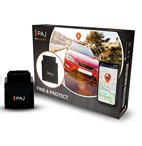 PAJ-GPS Tracker Mini Ortungsgerät Auto GPS Sender Car Tracker KFZ OBD2 mit App Autofinder live Echtzeit - Variante ONLINE-Ortung