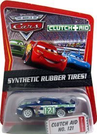 Disney / Pixar CARS Movie Exclusive 1:55 Die Cast Car with Sythentic Rubber Tires Clutch Aid by Mattel