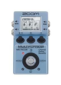 Zoom MS-70CDR / EG MultiStomp Chorus/Delay/Reverb Guitar Pedal