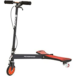 Razor PowerWing Trottinette Mixte Enfant, Rouge