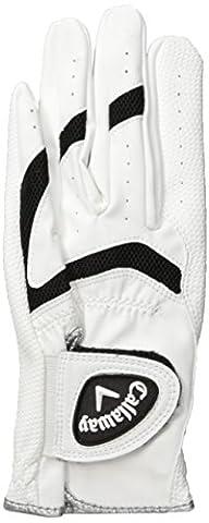 Callaway X Kinder Handschuh - weiss, linke Hand (für Rechtshänder), ML