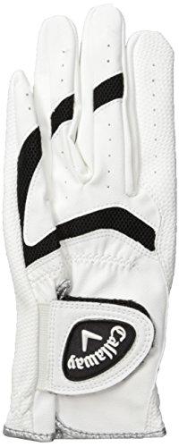 Callaway X Kinder Handschuh - weiss, linke Hand (für Rechtshänder), S