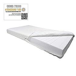 Betten ABC 9 Zonen orthopädische Kaltschaummatratze OrthoMatra KSP-1000 / Matratze H3 in 140 x 200 cm - auch für Allergiker geeignet