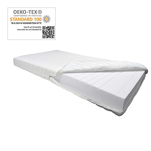 Betten ABC 9 Zonen orthopädische Kaltschaummatratze OrthoMatra KSP-1000 / Matratze H3 in 80 x 200 cm - auch für Allergiker geeignet