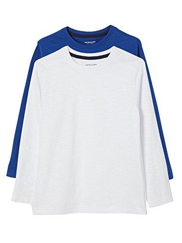 VERTBAUDET Lote de 2 Camisetas Niño de Manga Larga VERTBAUDET