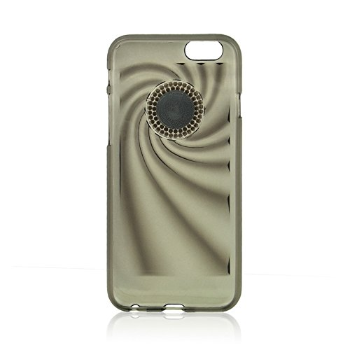 Phone case & Hülle Für IPhone 6 Plus / 6S Plus, modische Ultradünn Diamond verkrustete TPU Schutzhülle ( Color : Blue ) Black