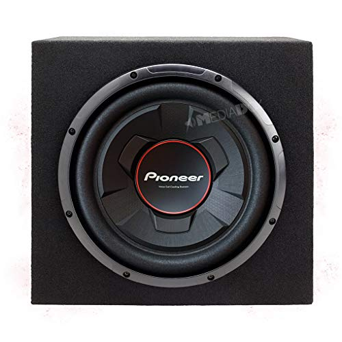 Pioneer UD-W306R - 30cm/300mm Auto Subwoofer/Basskiste/Bassbox - 1300 Watt Max (Pioneer 1300)