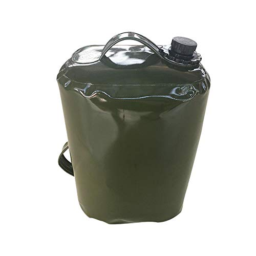 Preisvergleich Produktbild Hete-supply Oil Gasoline Container Bag Portable Oil Drum Fuel Canister Petrol Tank,  30L Food Grade TPU Collapsible Water Tank Container Can Store Gasoline Diesel Oil Water