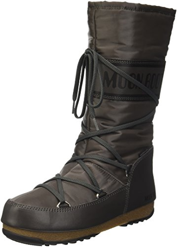 Moon Boot Damen W.E. Soft Shade Outdoor-/Sportschuhe, Grau (Antracite), 36 EU