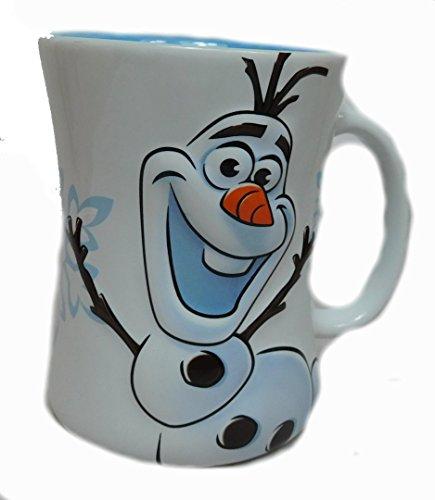 Disney Kaffeetasse Tasse Mug Pott Kaffee Disneyland Paris Olaf erhaben