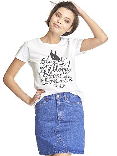 emp outlander Outlander Blood of My Blood Girl-Shirt weiß XL