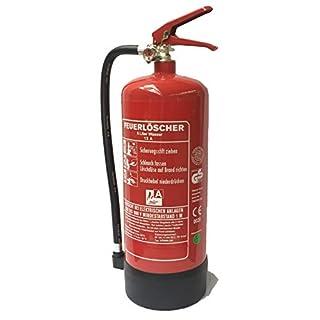 Feuerlöscher 6L Wasser DIN EN 3 GS geprüft, Füllmenge:6 L