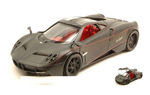 motormax-mtm79502-pagani-huayra-satin-series-matt-black-124-modellino-die-cast