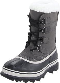 Sorel Women's Caribou Snow Boots, Grey (Shale)/Black (Stone), 9 UK 42 EU (B0031MAHVG) | Amazon price tracker / tracking, Amazon price history charts, Amazon price watches, Amazon price drop alerts