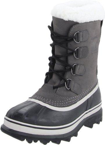 Sorel Damen Boots, Caribou, grau (shale)/schwarz (stone), Größe: 37