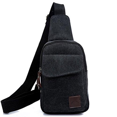 Herren-Brusttasche/Lässige Tasche/M Messenger Bag/Sport Umhängetasche/Rucksack/M-Paket-A E