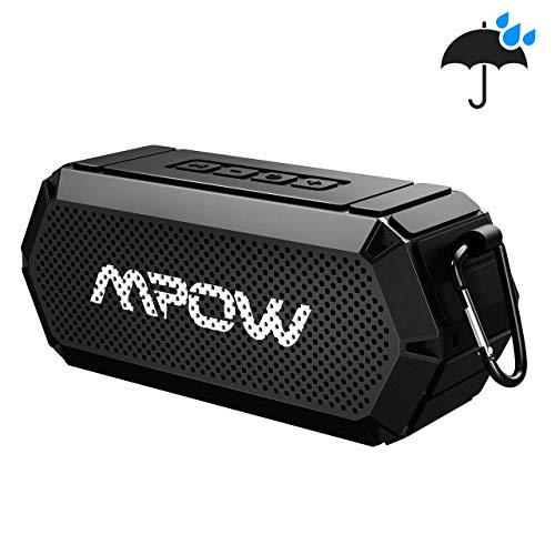Mpow Altoparlante Bluetooth 4.2, Cassa Portatile IPX6 con Suono Potente e Bassi, Vivavoce,20 Ore di Gioco,Speaker Senza Fili AUX-in per iPhone, Android, Vari Disposidivi e per Varie Occasioni