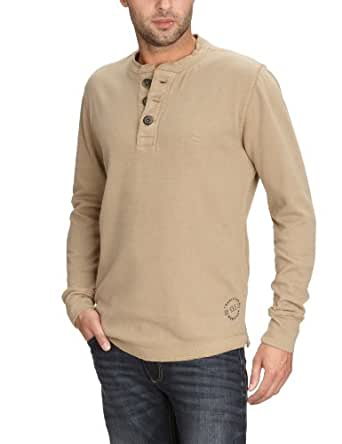 Camel Active Herren Sweatshirt Regular Fit 118152, Gr. 48 (S), Beige (08 camel)