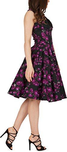 Vintage Kleid im 50er Jahre Stil Schwingender Rock - 2