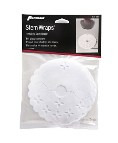 franmara-8362-c-10-pack-of-stem-wraps-425-glass-protector-fabric-pads