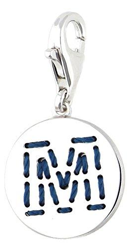 Esprit Damen Charm 925 Silber Silber Letter Fabric M ESCH91135A