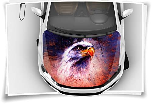 Adler USA Indianer Vogel Motorhaube Aufkleber Autoaufkleber Airbrush RapidAir Tuning