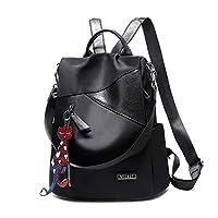 Fashion lovertjes Women's Backpack, Casual Waterproof Rugzak Nylon School Bag dames handtas Schoudertassen Lichtgewicht Daypack Anti-Theft Bagsl (Color : B)