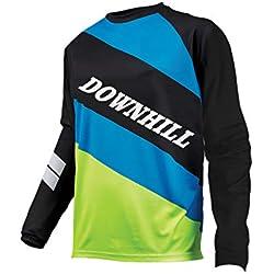 Sports Wear Uglyfrog Ropa MTB Hombre Verano/Primavera Downhill Jersey Manga Larga Maillot Ciclismo Caballero Cómodo Camisetas