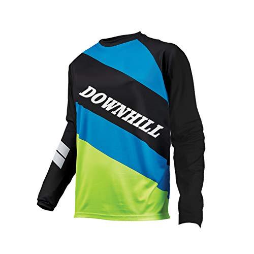 Uglyfrog Manica Lunga Maglia Downhill DH/AM/XC/FR/MTB/BMX/Moto/Enduro Abbigliamento Maglia da Ciclismo