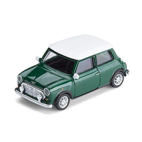 corpus delicti Modellauto mit Magnet für Kühlschrank und Pinnwand – Kultauto Mini Cooper British Racing Green