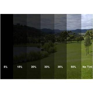 600x50cm 30% D.B Scheiben Folie Fensterfolie Sichtschutzfolie Scheibentönung Scheibenfolie Sonnenschutzfolie