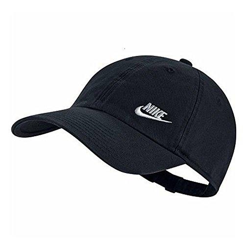 Nike Damen Twill H86 Kappe, schwarz (Black/White), One Size Twill-kappe