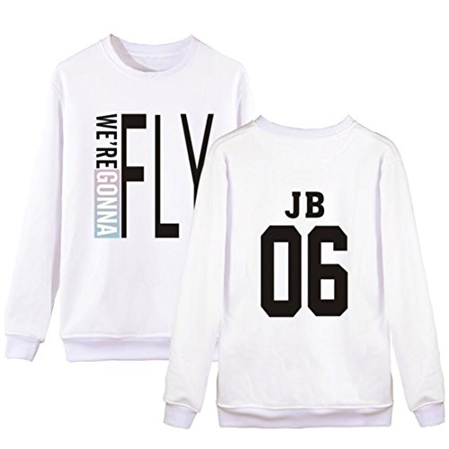 Partiss - Sweat à capuche - Femme JB 06 White