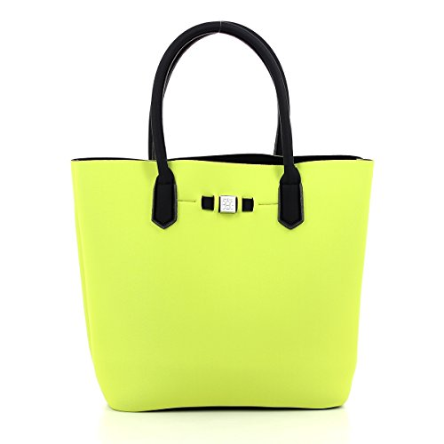 save my bag Damen Popstar Henkeltasche, Verde (Beat), 32x33x19 cm (Beat Bag)