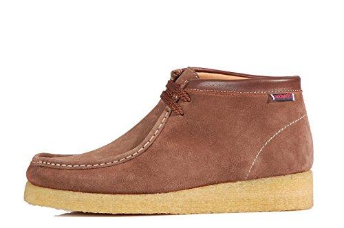 Sebago Koala Shoes Bottines Stringati B161216 Chestnut Shoes Baskets Marrons-Daim Marron - Chestnut