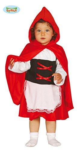 Rotkäppchen Kostüm mit Kapuzencape Rotkäppchenkostüm Kleinkinder 6-12 Monate