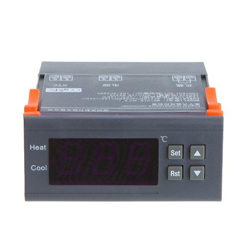 KKmoon Controlador temperatura termopar 10A 220V Digital