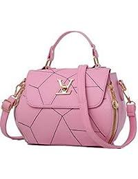 AllhqFashion Donna Moda Shopping Satchel-Style Borse di tela Borse a  tracolla 5f747b0901f