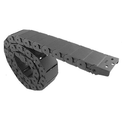 Un côté ouvert 18x 50mm en plastique corde chaîne Frein BLK