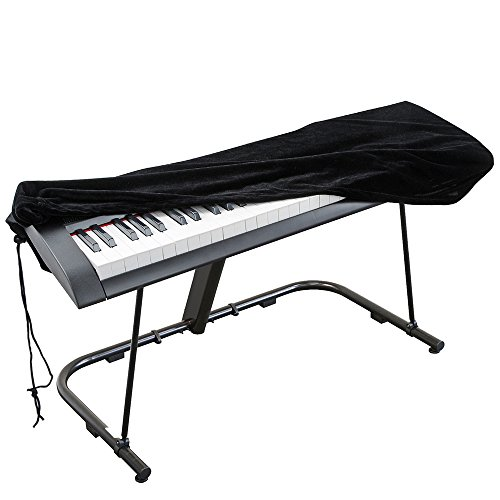 Cubierta para Yamaha, Casio, Roland, Consolas (Negro)