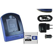 Baterìa + Cargador (USB/Coche/Corriente) NP-BN1 para Sony Cyber-shot DSC-TX.. W.. WX.. QX.. - ver lista