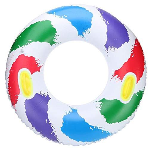 hwimmring Crystal Clear Adult Aufblasbarer Schwimmring Aufblasbarer Pool Float Water Party Spielzeug Schwimmen Und Andere Wassersportarten ()