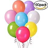 immagine prodotto Cookey Balloons 100 Pz Assortiti Colori Partito per la Cerimonia Nuziale Della Festa di Compleanno - 12 inch Palloncini in Lattice