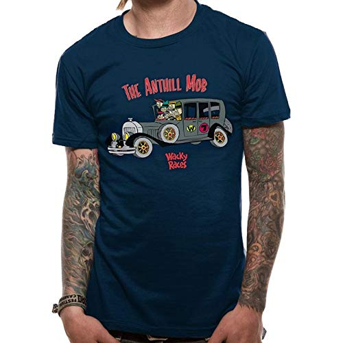 Wackey Races Anthill Mob T-shirt, Navy, Small Only